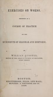 Cover of: Exercises on words