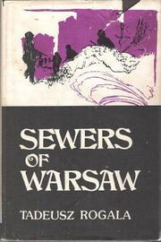 Cover of: Sewers of Warsaw | Tadeusz Rogala