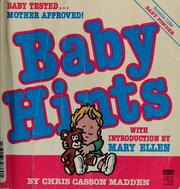 Cover of: Baby hints | Chris Casson Madden