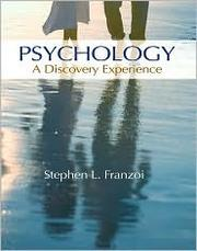 Cover of: Psychology | Stephen L. Franzoi