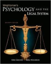 Cover of: Wrightsman's Psychology and the Legal System |