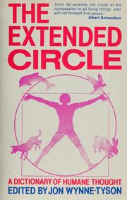 Cover of: The extended circle | Jon Wynne-Tyson