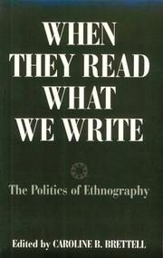 Cover of: When they read what we write