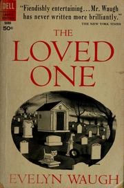 Cover of: The loved one | Evelyn Waugh
