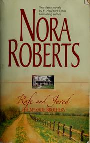 Cover of: Rafe and Jared |