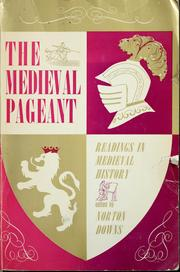 Cover of: Medieval pageant | Norton Downs