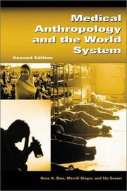 Cover of: Medical anthropology and the world system |