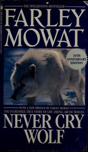 Cover of: Never cry wolf