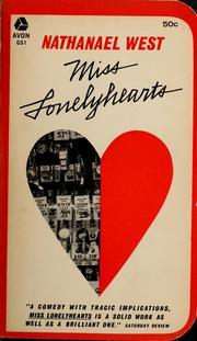 Cover of: Miss Lonelyhearts