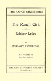 Cover of: The  ranch girls at Rainbow Lodge