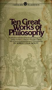 Cover of: Ten Great Works of Philosophy