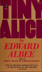 Cover of: Tiny Alice