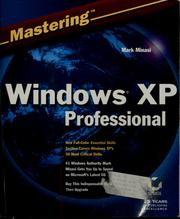 Cover of: Mastering Windows XP professional