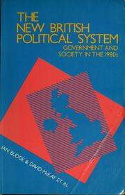 Cover of: The New British political system