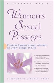 Cover of: Women's Sexual Passages: Finding Pleasure and Intimacy at Every Stage of Life