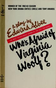 Cover of: Who's afraid of Virginia Woolf?