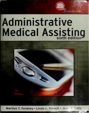 Cover of: Administrative medical assisting