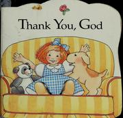 Cover of: Thank you, God | Tish Tenud