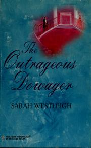 Cover of: The outrageous dowager
