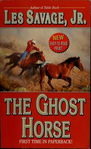 Cover of: The ghost horse | Les Savage