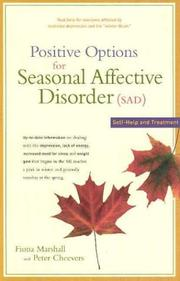Cover of: Positive options for seasonal affective disorder (SAD)