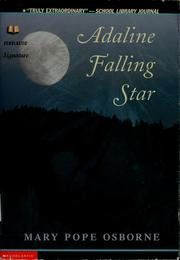 Cover of: Adaline Falling Star | Mary Pope Osborne