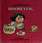 Cover of: Let's talk about disobeying