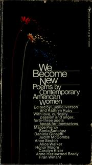 Cover of: We become new | Lucille Iverson, Kathryn Ruby