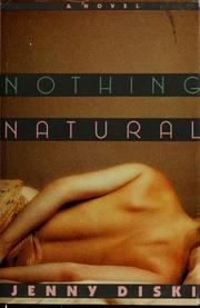 Cover of: Nothing natural
