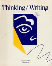 Cover of: Thinking/writing | Nancy Cavender
