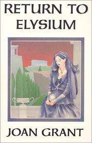 Cover of: Return to Elysium