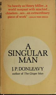 Cover of: A Singular man