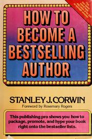 Cover of: How to become a bestselling author