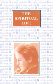 Cover of: The Spiritual Life | Evelyn Underhill