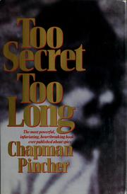 Cover of: Too secret too long