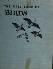 Cover of: The first book of birds | Williamson, Margaret