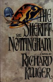 Cover of: The Sheriff of Nottingham