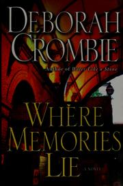 Cover of: Where Memories Lie