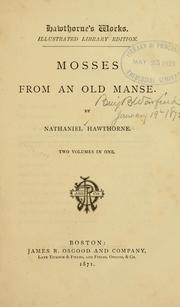 Cover of: Mosses from an old manse