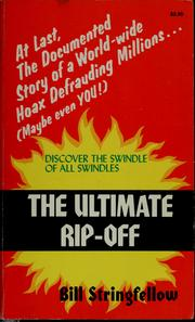 Cover of: The ultimate rip-off | Bill Stringfellow