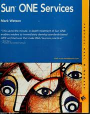Sun ONE services by Mark Watson