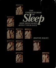 Cover of: The complete book of sleep