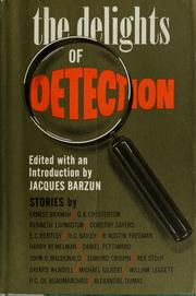 Cover of: The delights of detection