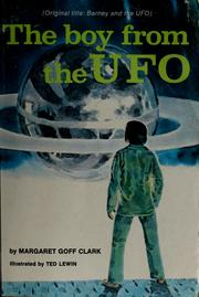 Cover of: The boy from the UFO