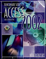Cover of: Microsoft Access 2002