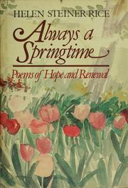 Cover of: Always a springtime