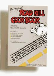Cover of: The original road kill cookbook