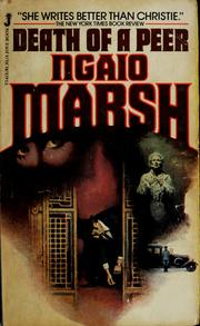 Cover of: Death of a Peer (Roderick Alleyn #10) by Ngaio Marsh