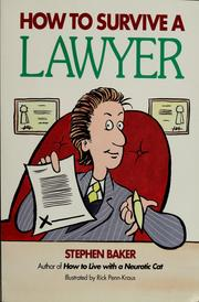 Cover of: How to survive a lawyer