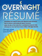 Cover of: The overnight résume